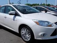 This 2012 Ford Focus 4dr 4dr Sedan SEL Sedan features a