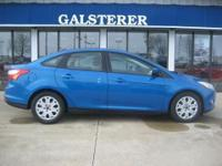 REDUCED! LIKE NEW! THIS FOCUS IN BLUE CANDY WITH