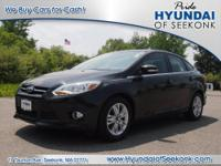 This is a great 2012 Focus sedan SEL. It comes with a