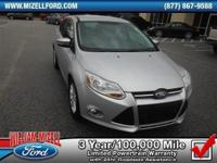 Like New Tires, Certified, and Clean Carfax. Focus SEL,