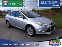 2012 Ford Focus SEL 4D Sedan, 2.0L I4 engine with