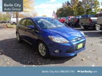 This 2012 Ford Focus is a five door hatchback with the