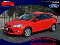 2012 Ford Focus Black SE 4dr Hatchback Hatchback