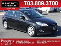CARFAX One-Owner. Clean CARFAX. Black 2012 Ford Focus