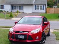Selling my 2012 Ford Focus SE Hatchback - Candy Apple