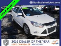 Options:  2012 Ford Focus Se White We Finance!