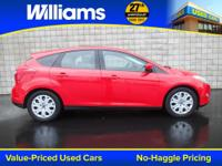 Options:  2012 Ford Focus Se|Red|Clean Vehicle History