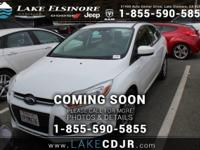 This 2012 Ford Focus SE is proudly offered by Lake