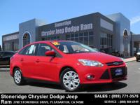 Options:  2012 Ford Focus Se Sedan|Red|4-Cyl 2.0