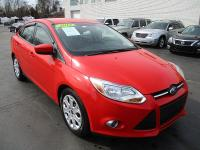 Options:  2012 Ford Focus 4D Sedan Se Red Fwd 4-Cyl 2.0