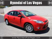 **LOCAL TRADE IN** and **WON'T LAST!**. 4D Sedan, Red