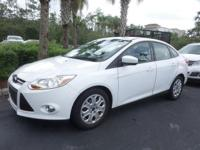 CARFAX One-Owner. Clean CARFAX. Oxford White 2012 Ford