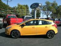 Exterior Color: yellow blaze, Body: Hatchback, Engine: