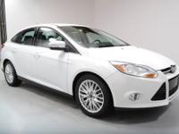 This 2012 Ford Focus SEL Sedan was just traded in, it