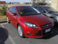 This 2012 Ford Focus Titanium is offered to you for