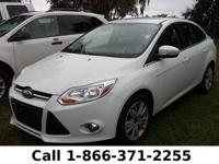2012 Ford Focus SEL Features: Keyless Entry - Tinted