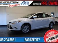 Focus SEL, White, and 2012 Ford Focus. Your
