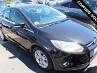 2012 Ford Focus SEL FWD 6-Speed Automatic with