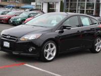 CARFAX One-Owner. 2012 Ford Focus Titanium Black, MP3,