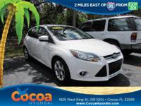 This 2012 Ford Focus Titanium in White features: Focus