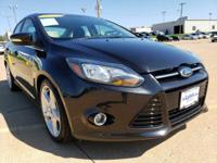 Tuxedo Black Metallic 2012 Ford Focus Titanium FWD