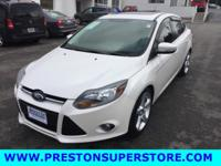 Options:  2012 Ford Focus Titanium|White|*Loaded!*
