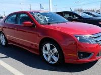 This 2012 Ford Fusion 4dr 4dr Sedan SPORT FWD Sedan