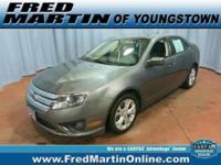 CLEAN CARFAX and ONE OWNER. Fusion SE and 6-Speed