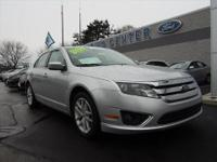 NAVIGATION. THIS 2012 FORD CERTIFIED FUSION SEL IS