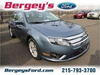 2012 Ford Fusion SEL Sedan 4D Ext. Color: STEEL