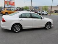 2012 Ford FusionSEL White Platinum Camel, LEATHER,