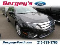 2012 Ford Fusion SEL Sedan 4DExt. Color: BlackStock: