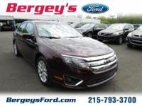 2012 Ford Fusion SEL Sedan 4DExt. Color: