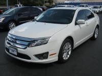 Ford Pre-owned Certified 2012 Ford Fusion SEL. Leather,