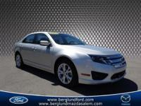 2012 Ford Fusion SE sedan that is a FORD CERTIFIED
