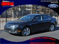 Take a look at our beautiful 2012 Ford Fusion Sport.