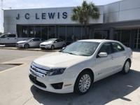 New Price! Clean CARFAX. White Suede 2012 Ford Fusion