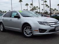 Fusion S, 4D Sedan, 2.5L I4, 6-Speed Automatic, FWD,