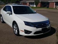 2012 white Ford Fusion SE. 46,500 miles!!! GREAT