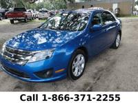 2012 Ford Fusion SE Features: Blue exterior - gray
