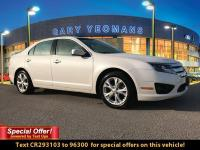 CARFAX One-Owner. White 2012 Ford Fusion SE FWD 6-Speed