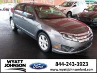 Sterling Gray Metallic 2012 Ford Fusion SE FWD 6-Speed