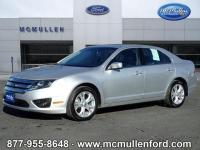 2012 Ford Fusion SE 4D Sedan 6-Speed Automatic.