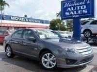 Options:  2012 Ford Fusion Se|Gray|**99 Point Safety