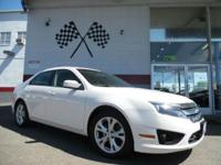 Options:  2012 Ford Fusion Se 4Dr