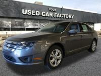 Recent Arrival! 2012 Ford Fusion 4D Sedan SE Gray FWD