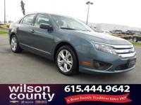 2012 Ford Fusion SE 2.5L I4 Steel Blue Metallic CARFAX