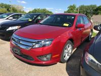 CARFAX One-Owner. Ruby Red Metallic 2012 Ford Fusion SE