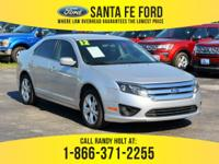 *2012 Ford Fusion SE - *Mid-Size sedan - V6 3.0L engine