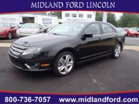 Look at this Sleek 2012 Ford Fusion Sport! It has a